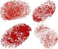 Vector os dedos Imagem de Stock