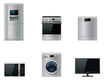 Vector os dispositivos principais ajustados Imagem de Stock