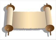 Vector oude rollen vector illustratie