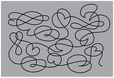 Vector outline Stock Image