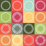 Vector outline frames Stock Photo