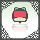 Vector outline radish icon. Modern infographic logo and pictogram. Royalty Free Stock Photo