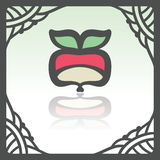 Vector outline radish icon. Modern infographic logo and pictogram. Royalty Free Stock Image