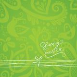 Vector overladen behang met discrete bloemenornamenten. Royalty-vrije Stock Foto