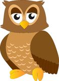 Vector Owl Stock Image
