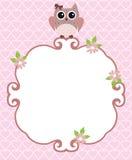 Vector Owl Bird Royalty Free Stock Photos