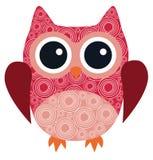 Vector Owl Bird Royalty Free Stock Photo