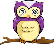 Vector Owl illustration. Illustration cartoon of a owl vector file Royalty Free Stock Image