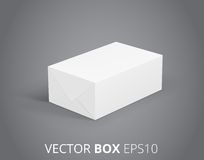 Vector Package Icons Stock Image