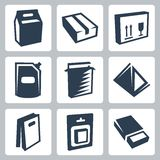 Vector package icons set #2 Stock Images