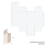 Vector packaging template Stock Photo