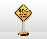 Vector page not found concept Stock Photography