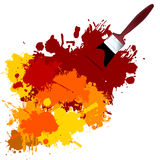 Vector Paint Royalty Free Stock Photos