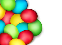 Vector painted Easter eggs  Royalty Free Stock Photography