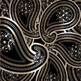 Vector paisley background Stock Photo
