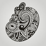 Vector paisley design element Royalty Free Stock Image