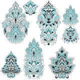 Vector  Paisley Design Elements Royalty Free Stock Photo