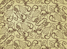 Vector paisley pattern Royalty Free Stock Photo