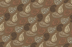 Vector paisley pattern Royalty Free Stock Photos