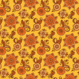 Vector paisley seamless pattern. Royalty Free Stock Images