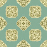 Vector paisley seamless pattern Stock Photos