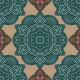 Vector paisley seamless pattern Royalty Free Stock Photo