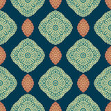 Vector paisley seamless pattern Royalty Free Stock Images
