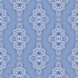 Vector paisley seamless pattern Stock Image