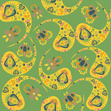 Vector Paisley seamless pattern Royalty Free Stock Photography