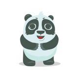 Vector Panda Bear illustration Stock Photos