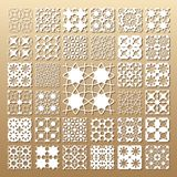 Laser cut panels royalty free illustration