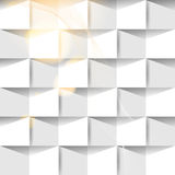 Vector paper origami seamless background Stock Images