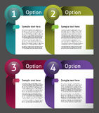 Vector Paper Progress Background Stock Images