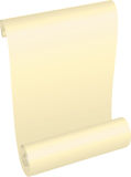 Vector paper scrolls Stock Image