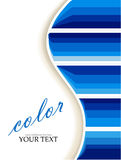 Vector paper wave background Stock Photography