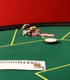 Vector para el póker Fotografía de archivo libre de regalías