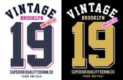 Vector para la camiseta 025 Fotos de archivo libres de regalías