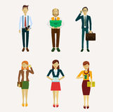 Vector para los hombres de negocios Imagenes de archivo