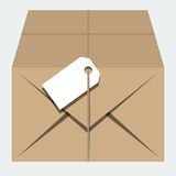 Vector  parcel Royalty Free Stock Image