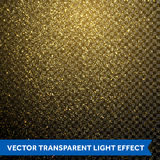 Vector particles golden dust, shimmering glitter texture Stock Photography