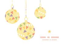 Vector party decorations bunting Christmas Stock Photos