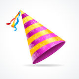 Vector Party Hat Royalty Free Stock Photography