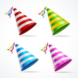 Vector Party Hat Set Stock Photos