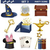 Vector Party Icons Set 3 Stock Photo