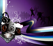 Vector Party Illustration Royalty Free Stock Photography