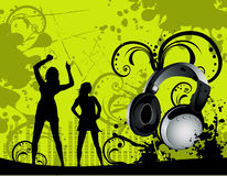 Vector party illustration Stock Images