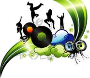 Vector party illustration Royalty Free Stock Photos
