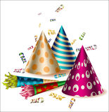 Vector party items Stock Photos