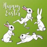 Vector Pascua Bunnys stock de ilustración