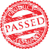 A vector passed stamp Royalty Free Stock Photo
